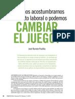 Conflictos en Los Servicios Esenciales Al Conflicto Laboral o Podemos Cambiar