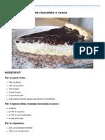 Cioccococco Crostata Cioccolato e Cocco