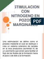 Estimulacion Con Nitrogeno en Pozos Marginales