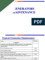 2- Generator Maintenance