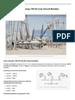 Electrical-Engineering-portal.com-An Example of Choosing 138 KV Line Circuit Breaker
