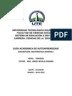 Guia Academica de Autoaprendizaje_mat Gen I_jorge_mar-jul 2014