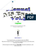 Manual Microsoft Excel