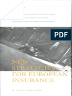 New Strategies for Europian Insurance