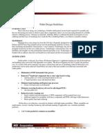 Asahitec Solder Paste Stencil- Solder Wave Pallet Design Guidelines
