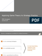 Lec 8- Kanvic-FD_Presentation-Applying Game Theory to Strategy Practice-MDI_2014!07!07