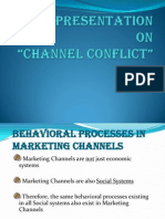 Behavioural Proc n Channel Conflict