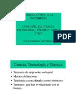 Presentacion Conceptos Ciencia y Tecnologia