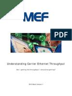 Understanding Carrier Ethernet Throughput