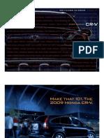 2009 Cr v Brochure