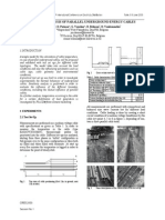 Thermal Analysis of Parallel Underground Energy Cables/ power cable