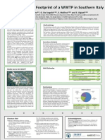 Carbon ande Energy Footprint of a WWTP in Southern Italy -Poster Ecostp2014
