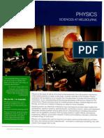 Physics Sciences Flyer