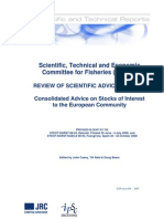 REVIEW OF SCIENTIFIC ADVICE FOR 2009