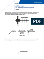 Wireless AnWireless Antenna Installation Guidetenna Installation Guide