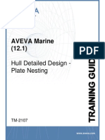 TM-2107 AVEVA Marine (12.1) Hull Detailed Design - Plate Nesting Rev 4.1