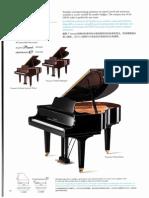 GB1KPE Grand Piano Spec Sheet