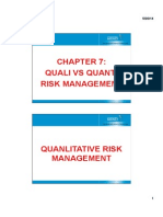 PM - Chapter 7 - Quanti vs Quali Risk