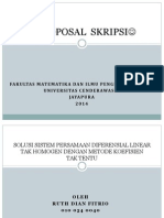 Proposal Skripsi 2014