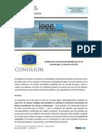 Consejo de Asuntos Exteriores de la UE (junio de 2014)