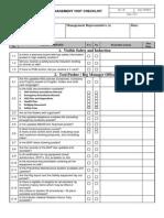 HSE Management Visit Checklist Template Final