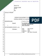 Kenneth Eade v. Investorshub.com, Inc. Et Al Doc 143-1 Filed 30 Jun 14