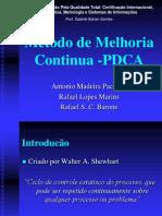 Método de Melhoria Continua -PDCA