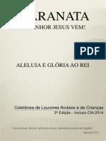 Coletânea de Louvores Avulsos e CIA 2014 - Com Cifra.pdf