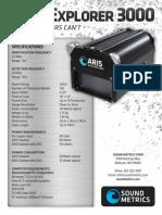 ARIS 3000 Product Specs