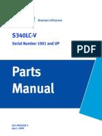Manual PartsS340LC V