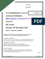 M.S._differentiation Test B