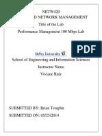 Netw420 Lab 3 Ilab Report Bet