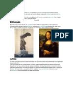 La Historia de Arte