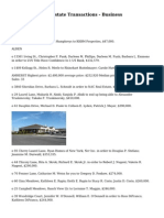 Erie County Real Estate Transactions - Business
