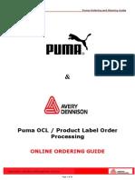 Avery Puma Order Processing Manual.