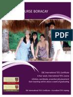TEFL course Boracay, Philippines