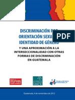 Informe CIDH LGBT Guatemala