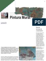 INAH Intensifica Programa Para Conservar Pintura Mural