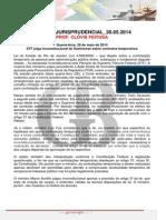 Coluna Jurisprudencial 30.05.2014 Clvis Feitosa