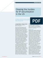 IAM Magazine Issue 14 - Clearing the Hurdles for IP Securitisation in the US (Co-published Editorial)
