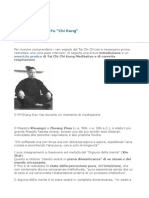 Meditazione Kung Fu, Chi Kung