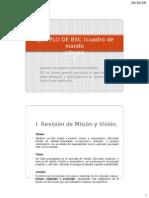 EJEMPLO de BSC Cuadro de Mando Integral