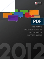 The AMA's Executive Guide to Social Media Success in 2012