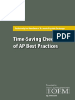 AP Premium Checklists