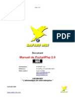 PortailPHP v2.0 Manuel