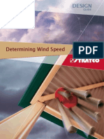 Wind Speed Design Guide