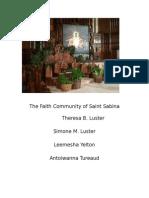 The Faith Community of Saint Sabina
