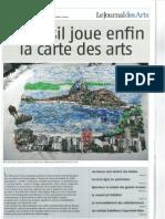 Journal des Arts_Brésil