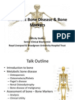 Metabolic Bone Disease & Bone Markers - Slides