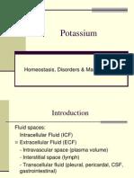 Potassium Homeostasis - Lisa Bailey